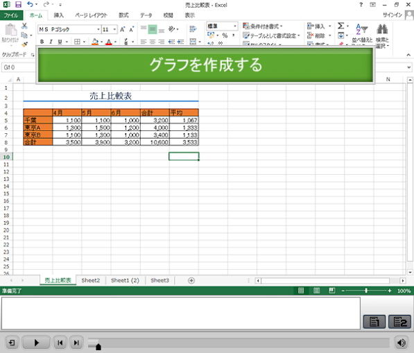 Excel 2013 基本編 サムネイル